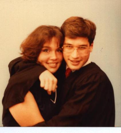 Brandy & I, graduation 1983
