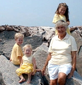 hi there great one of granny and kids