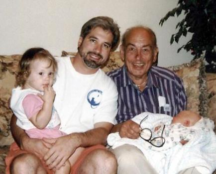 Pappa, Daddy, baby Noel, & Rochelle