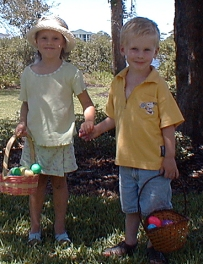 Two Egg Hunters!